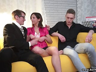 Fucked for her cheap-ass bf